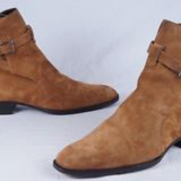 e6c08d5e20f YSL St Laurent Wyatt Mens Boots